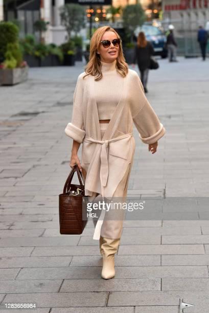 Amanda Holden sighting on November 03 2020 in London England