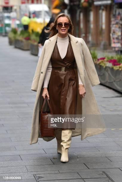 Amanda Holden sighting on November 10 2020 in London England