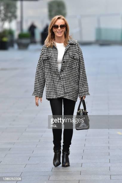 Amanda Holden sighting on November 12, 2020 in London, England.