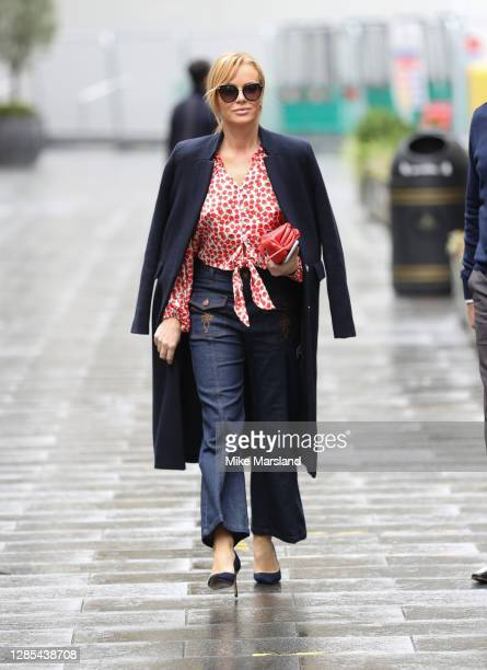 Amanda Holden sighting on November 13, 2020 in London, England.