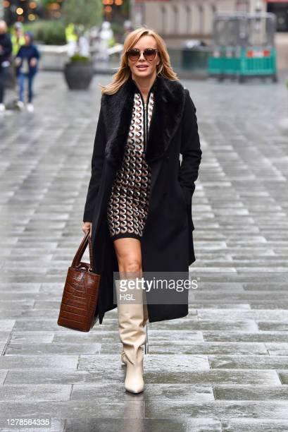 Amanda Holden sighting on October 05 2020 in London England