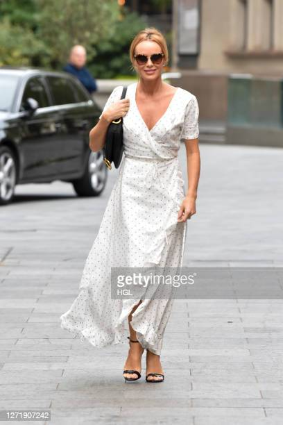 Amanda Holden sighting on September 11 2020 in London England