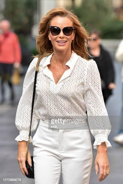 Amanda Holden sighting on September 17, 2020 in London, England.