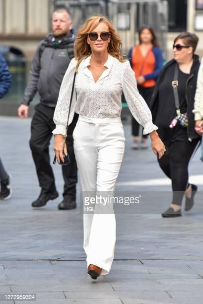 Amanda Holden sighting on September 17 2020 in London England