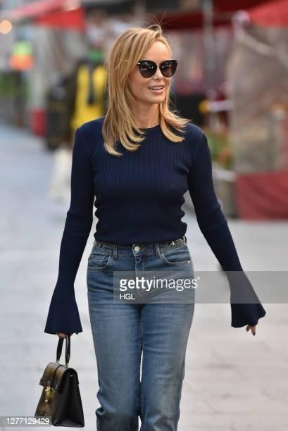 Amanda Holden sighting on September 28, 2020 in London, England.