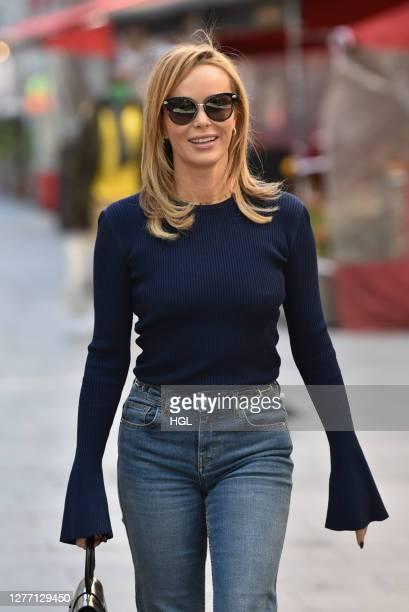 Amanda Holden sighting on September 28 2020 in London England