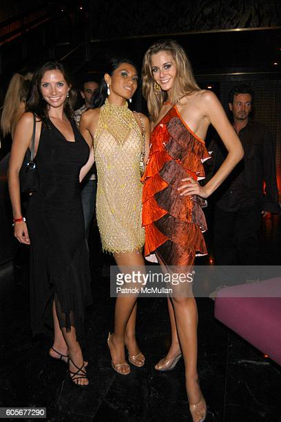Amanda Holzen Leah Andrea Ramos Miss Philippines and Brittany Mason attend Miss Universe Post Pageant VIP Party hosted by Chuck Nabit Dave Geller Ed...