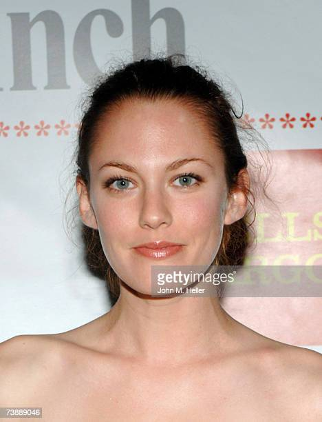 Amanda Humphrey attends The Children Affected By Aids Foundation's A Night Of Comedy on April 14 2007 at the Wilshire Theater in Beverly Hills...