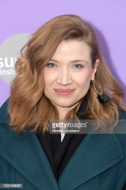 Amanda Jaros attends the 2020 Sundance Film Festival The Evening Hour Premiere at Library Center Theater on January 27 2020 in Park City Utah