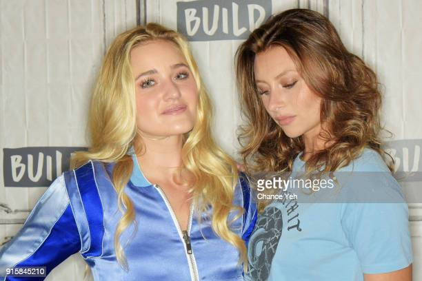 Amanda Joy Michalka and Alyson Michalka of Aly AJ attend Build series to discuss 'Ten Years' at Build Studio on February 8 2018 in New York City