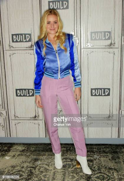 Amanda Joy Michalka of Aly AJ attends Build series to discuss 'Ten Years' at Build Studio on February 8 2018 in New York City