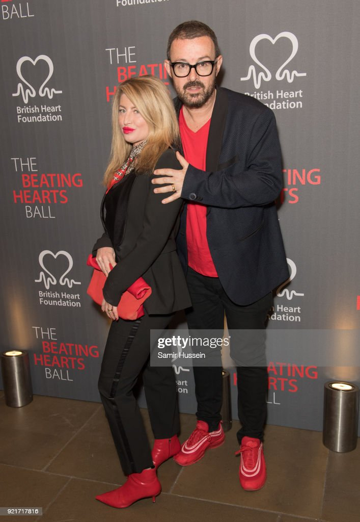 Amanda Jules (L) and Judge Jules attend the British Heart Foundation's 'The Beating Hearts Ball' at The Guildhall on February 20, 2018 in London, England.