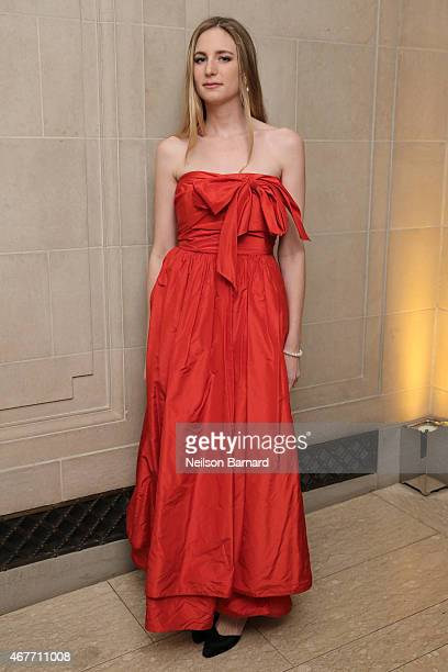 Amanda Kahn attends the The Frick Collection 2015 Young Fellows Ball A Dance at the Spanish Court sponsored by LANVIN at The Frick Collection on...