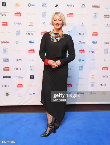 Amanda Keller attends the Save Our Sons Gala at The Star on September 16 2017 in Sydney Australia