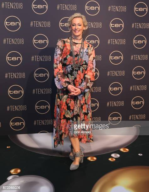 Amanda Keller poses during the Network Ten 2018 Upfronts on November 9 2017 in Sydney Australia