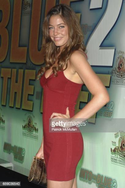 Amanda Kimmel attends 'Into The Blue 2 The Reef' Premiere Party at The Beverly Hilton on April 14 2009 in Beverly Hills CA