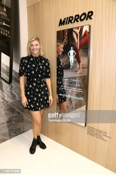 Amanda Kloots attends MIRROR Westfield Century City grand opening event at Westfield Century City on November 19 2019 in Century City California