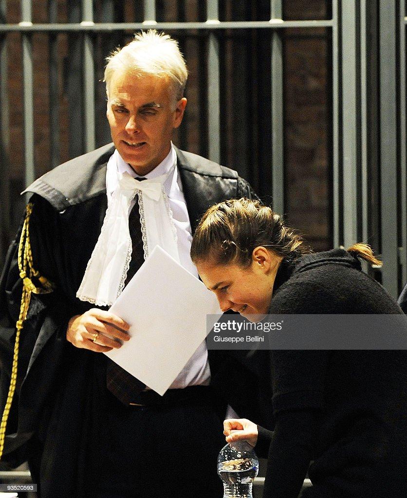 Meredith Kercher Murder Trial Continues : ニュース写真