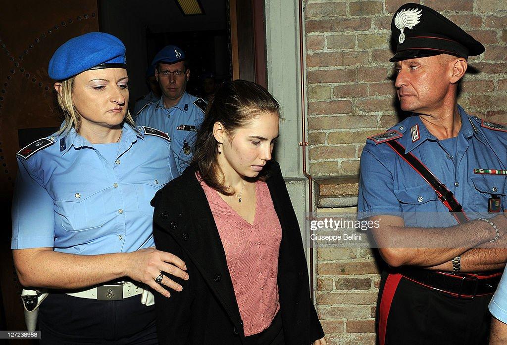 Verdict In Amanda Knox Appeal Trial Imminent : ニュース写真