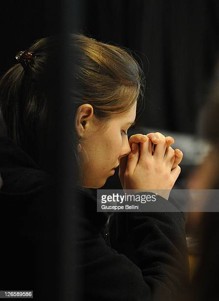 Amanda Knox attends her appeal hearing on September 26 2011 in Perugia Italy Amanda Knox is awaiting the verdict of her appeal that could see her...