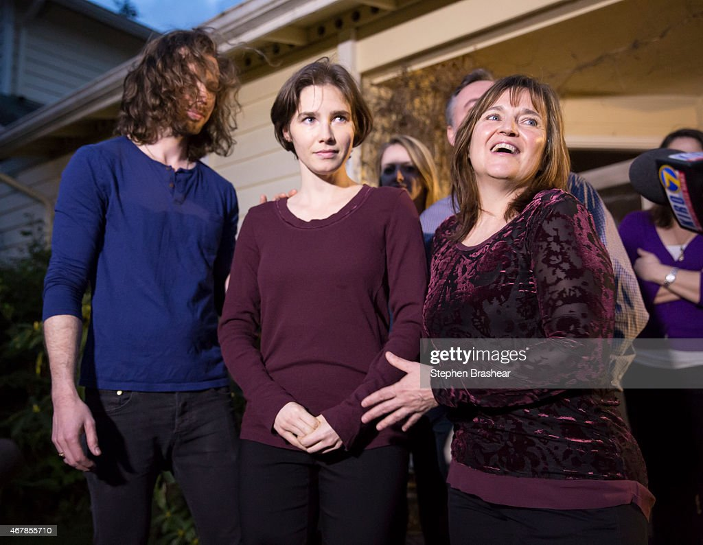 Italian Court Rules On Amanda Knox Case : News Photo