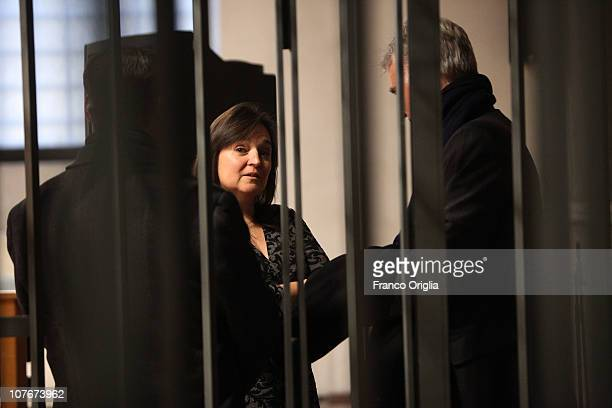 Amanda Knox's mother Edda Mellas attends the appeal hearing of Amanda Knox over the guilty verdict in the murder of Meredith Kercher in Perugia's...