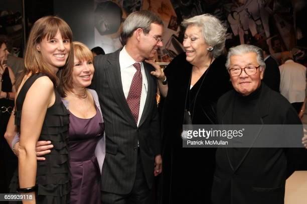Amanda Kowalski, Barbara Kowalski, Michael Kowalski, Elsa Peretti and Hiro attend ELSA PERETTI Celebrates 35 Years with TIFFANY & Co. At Tiffany &...