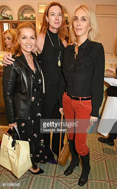 Amanda Kyme Dee Stirling and Sarah Woodhead attend the 3rd Annual Ladies' Lunch in support of the Silent No More Gynaecological Cancer Fund at...