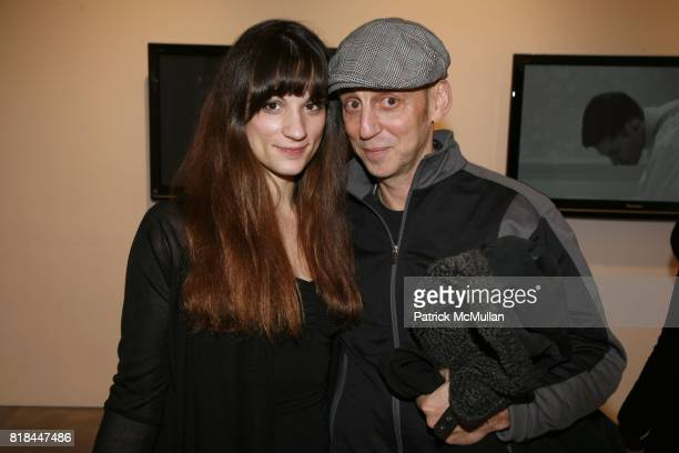 Amanda LaCour and David Pullman attend ERWIN OLAF Opening Reception at Hasted Hunt Kraeutler on January 28 2010 in New York
