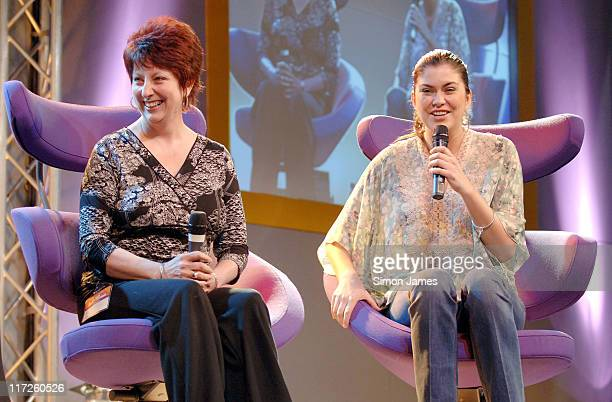 Amanda Lamb and her mother Christine Heather