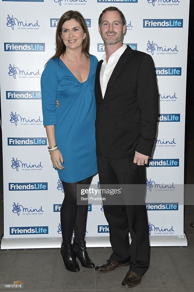Amanda Lamb and Sean McGuiness attend the Mind Mental Health Media Awards at BFI Southbank on November 19, 2012 in London, England.