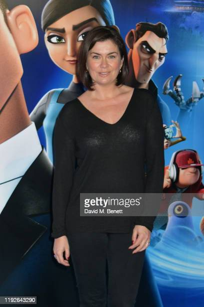 "Amanda Lamb attends a Gala Screening of ""Spies In Disguise"" at the BFI Southbank on December 08, 2019 in London, England."