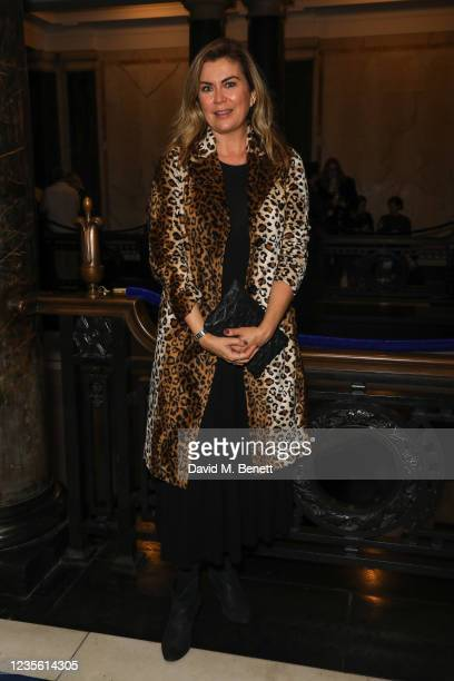 """Amanda Lamb attends the 4th anniversary Gala Performance of Agatha Christies """"Witness For The Prosecution"""" at London County Hall on September 30,..."""