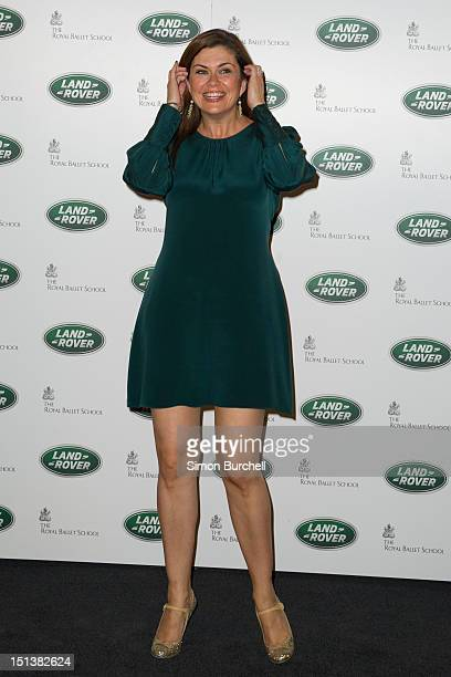 Amanda Lamb attends the all new Range Rover unveiling on September 6 2012 in London England