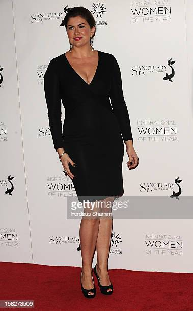 Amanda Lamb attends The Daily Mail Inspirational Women of the Year Awards sponsored by Sanctuary Spa and in aid of Wellbeing of Women at Marriott...