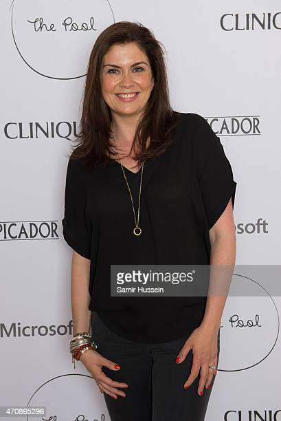Amanda Lamb attends the launch party for The Pool, a unique multi-media platform for busy women co-founded by renowned editor and journalist Sam...