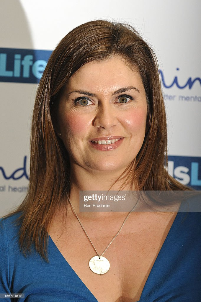 Amanda Lamb attends the Mind Mental Health Media Awards at BFI Southbank on November 19, 2012 in London, England.