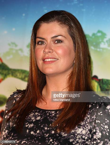 Amanda Lamb attends the premiere of Cirque du Soleil Totem at Royal Albert Hall on January 5 2011 in London England