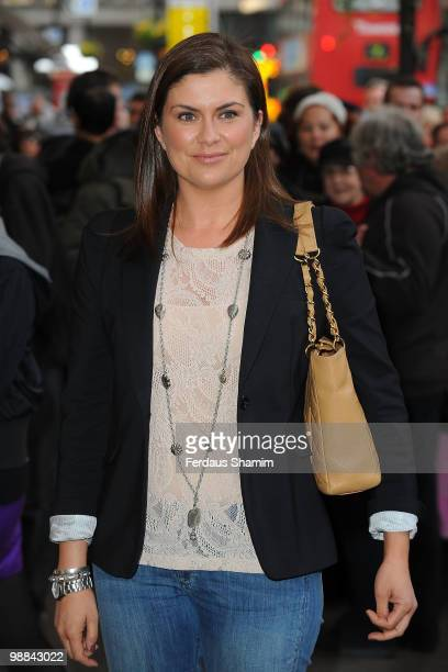 Amanda Lamb attends the press night for 'Sweet Charity' at Theatre Royal on May 4, 2010 in London, England.