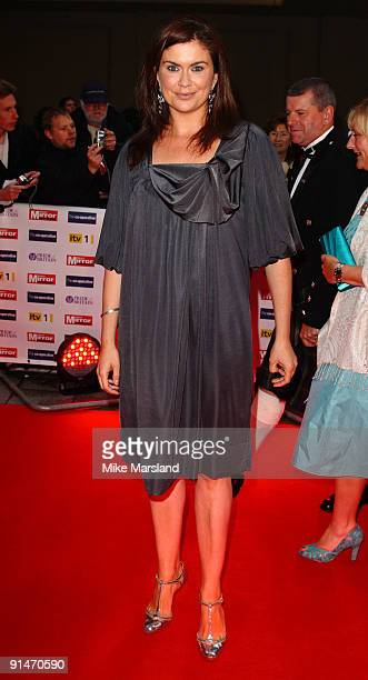 Amanda Lamb attends the Pride Of Britain Awards at Grosvenor House, on October 5, 2009 in London, England.