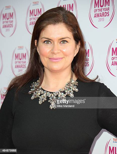 Amanda Lamb attends the Tesco Mum of the Year Awards at The Savoy Hotel on March 1, 2015 in London, England.