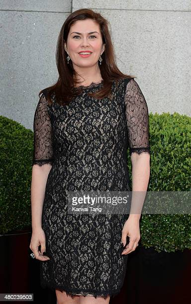 Amanda Lamb attends the Tesco Mum of the Year awards at The Savoy Hotel on March 23 2014 in London England