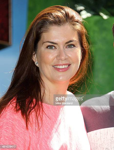 "Amanda Lamb attends the UK Gala Screening of ""How To Train Your Dragon 2"" in 3D at Vue West End on June 22, 2014 in London, England."