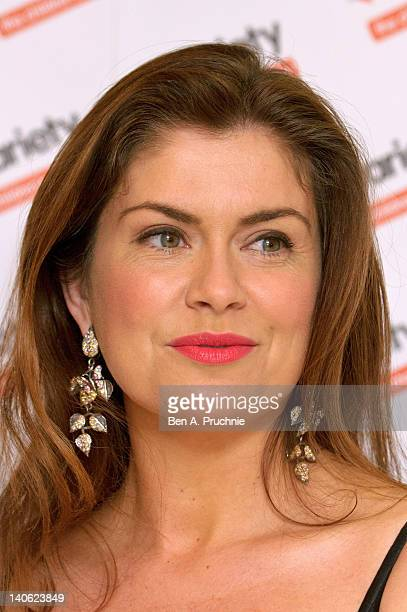 Amanda Lamb attends The Variety Club Annual Dinner at Grosvenor House on March 3 2012 in London England
