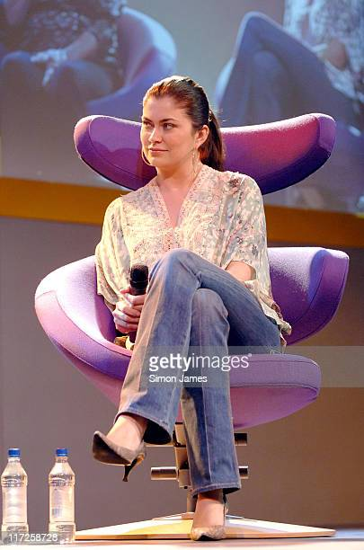 Amanda Lamb during A Place in the Sun at the Overseas Property and Lifestyle Show April 7 2006 at ExCel in London Great Britain