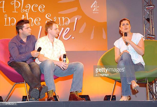 Amanda Lamb during A Place in the Sun Live! -Exhibition at ExCel in London, Great Britain.