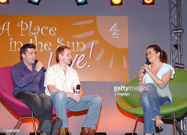 Amanda Lamb during A Place in the Sun Live Exhibition at ExCel in London Great Britain