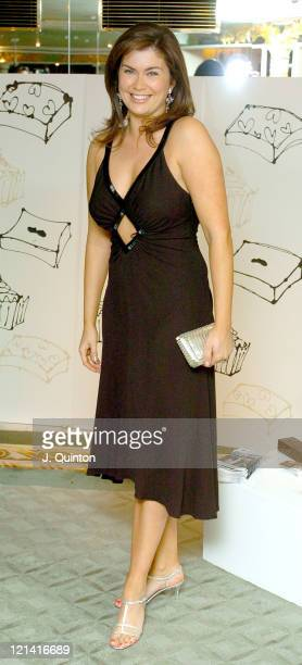 Amanda Lamb during The Chocolate Ball In Aid Of Sargent's Cancer Care at The Dorchester Hotel in London Great Britain