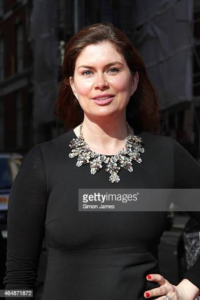 Amanda Lamb sighting on March 1, 2015 in London, England.