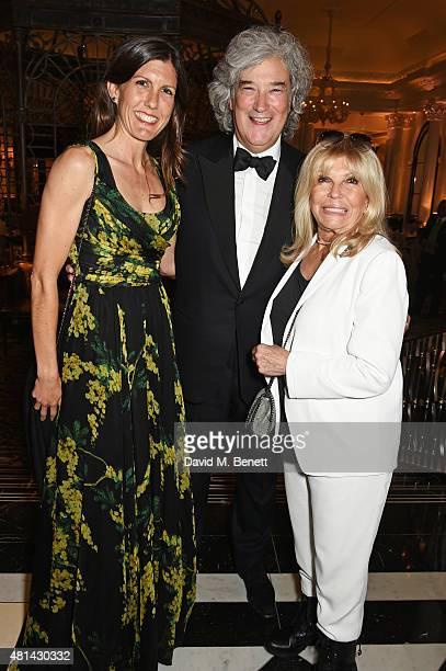 Amanda Lambert Karl Sydow and Nancy Sinatra attend an after party following the press night performance of 'Sinatra At The London Palladium' at The...